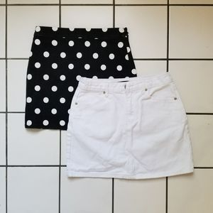 Bundle of 2 Forever 21 Skirts
